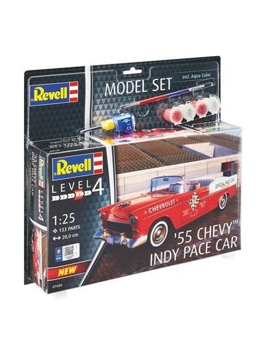 Revell  Maket Model Set 55 Chevy Indy Vba67686 Renkli